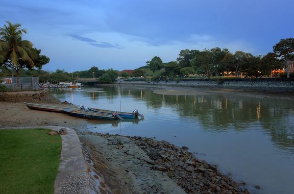 Changi Muddy Boats