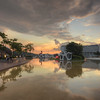 Wading Pool Sunset I