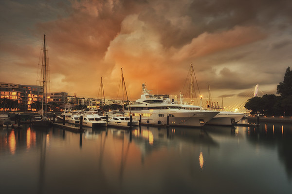 Keppel Yachts Sunset