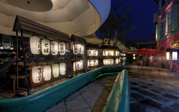 Lanterns of Clarke Quay