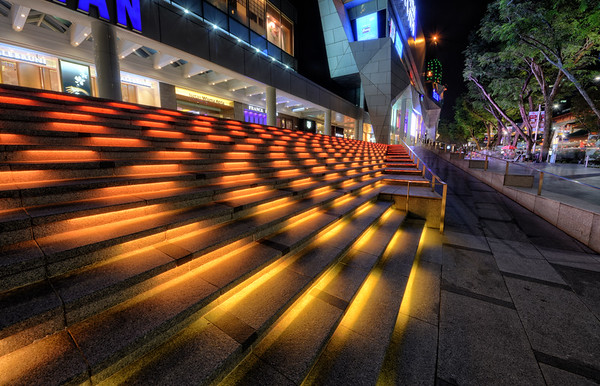 Colorful Steps of Orchard