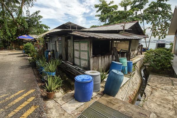 Sheds of Pulau Ubin