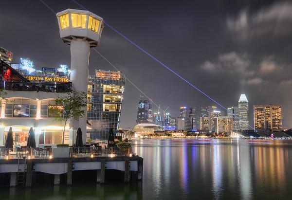 Lasers of Marina Bay III
