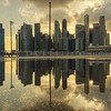 Puddles of Marina Bay