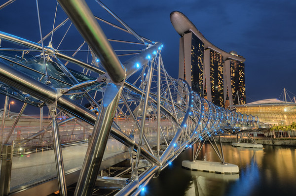 Helix Bridge Blues