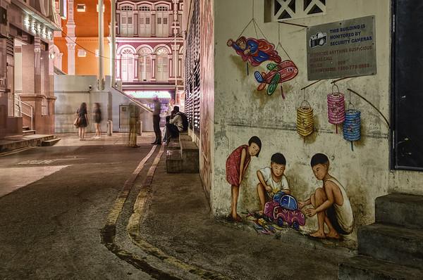 A Chinatown Mural II