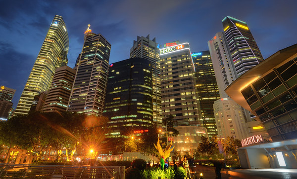 Singapore Skyline Blues