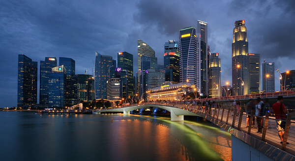 Marina Bay, Singapore. March 2016.