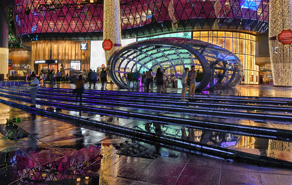 Puddles of ION Orchard