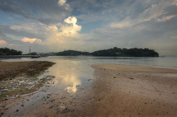 A Muddy Beach