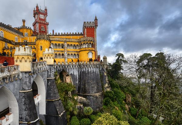 Hill of Pena Palace