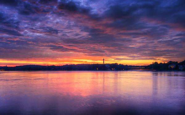Kaknäs Tower Sunset