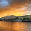 Harbor Sunset I