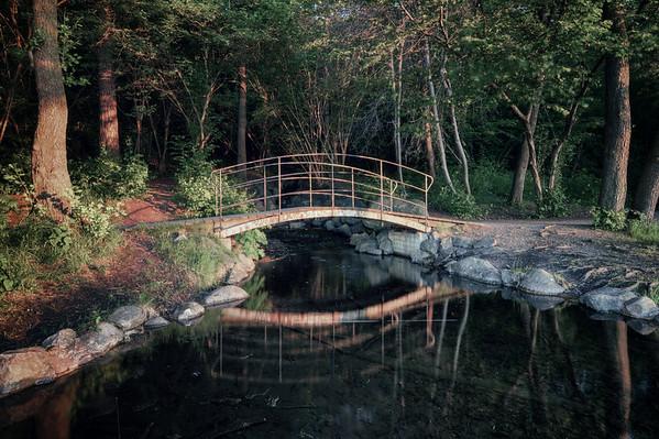 Dark Bridge Sunset