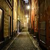A Dark Alley Street