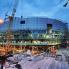 Tele2 Arena in Progress