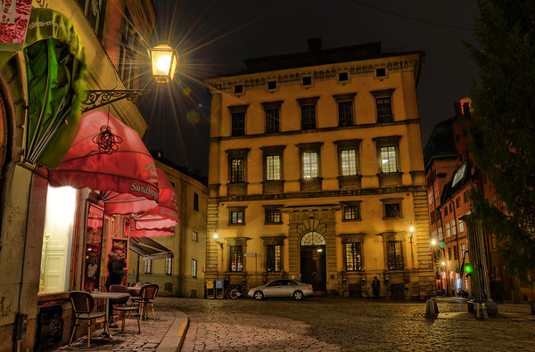 Old Town by Night IV