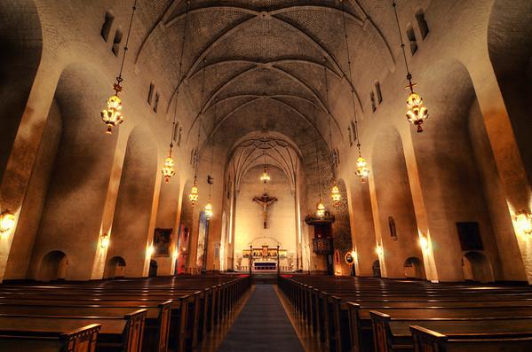 Högalid Church Interior