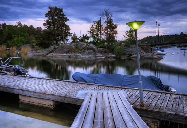 The Silent Marina