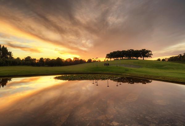 Elm Pond Sunset