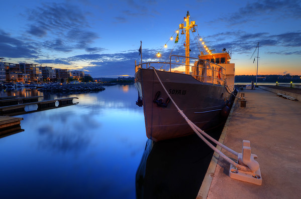 The Evening Ship