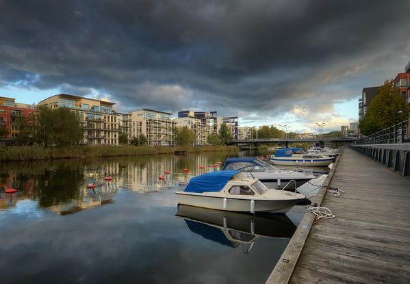 Heavy Clouds Marina