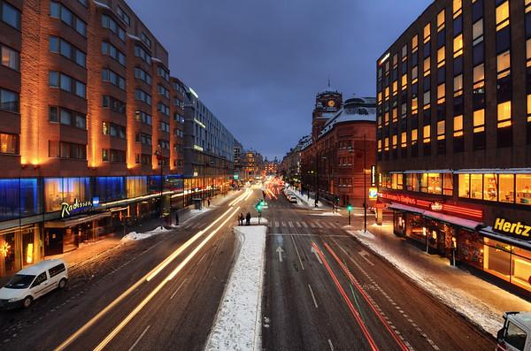 Vasa Street Dusk