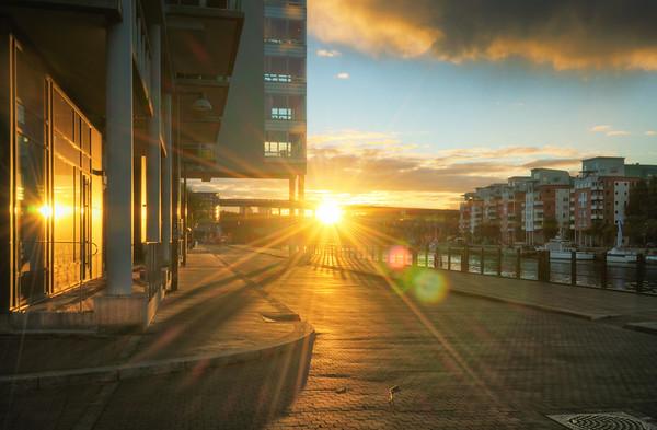 A Hammarby Sunburst