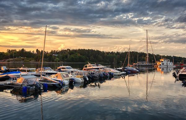 Boats of Church Bay