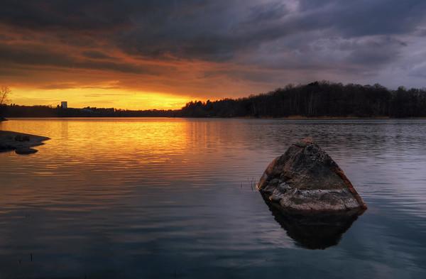 Sunset Rock Lake I