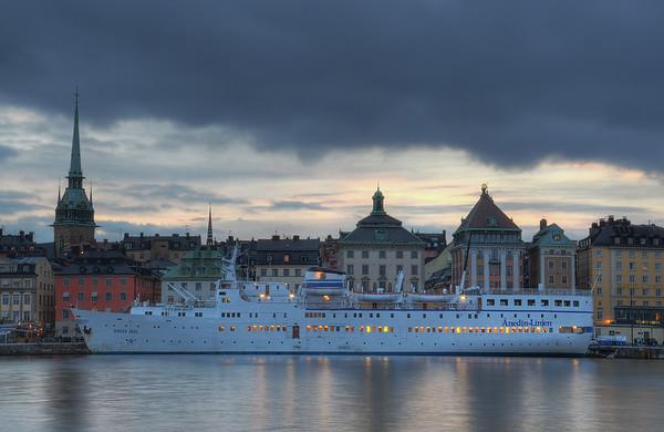 An Evening on Skeppsholmen IV