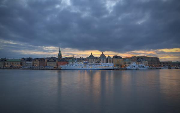 An Evening on Skeppsholmen III