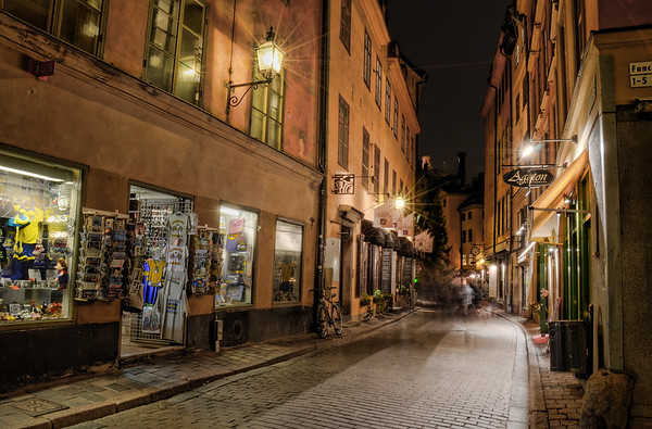 Old Town by Night III