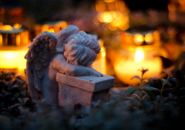 A Grieving Angel