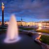 Fountain Park Dusk