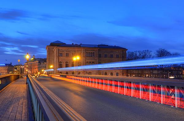 An Evening on Skeppsholmen IX