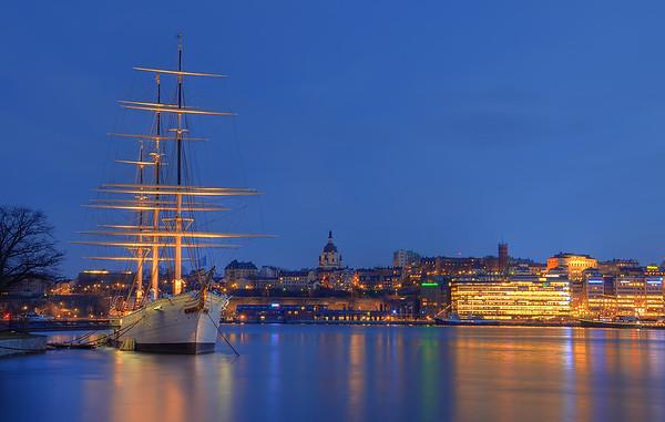 An Evening on Skeppsholmen VI