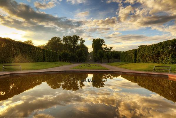 Royal Pond Sunset I