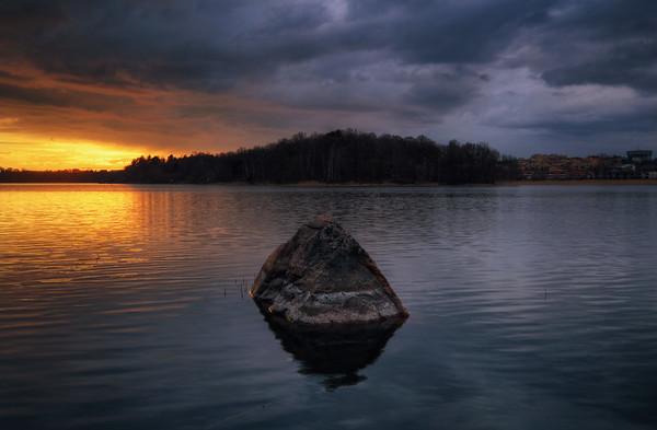Sunset Rock Lake II