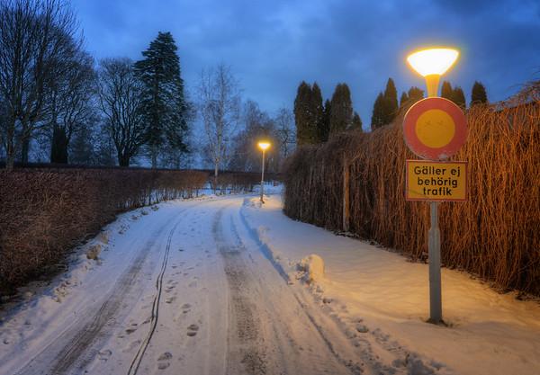 Snowy Cemetery Blues