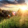 Sunburst of Cape Waldemar