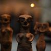 Three Small Figurines