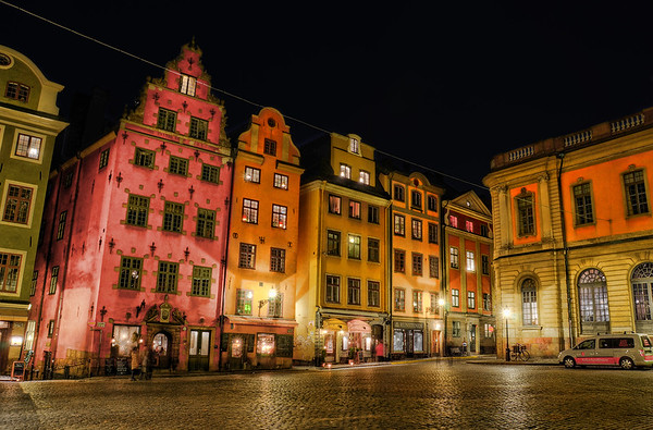 Old Town by Night IX