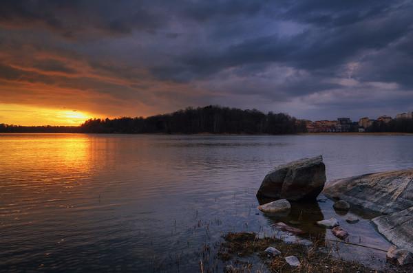 Sunset Rock Lake III