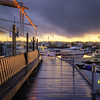 Gåshaga Marina Sunset