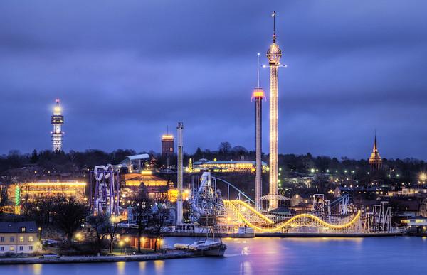 Theme Park Towers