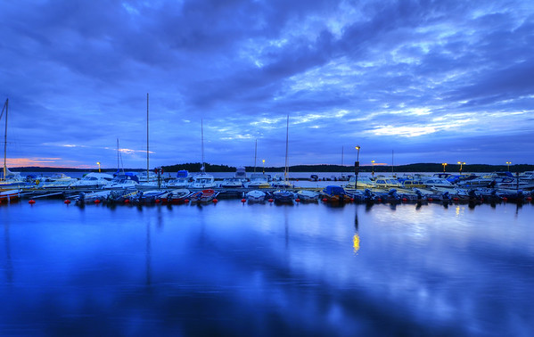 Blue Hour Marina
