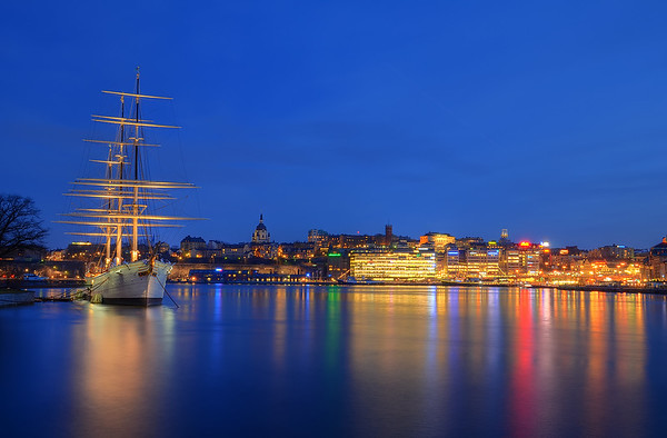 An Evening on Skeppsholmen VIII