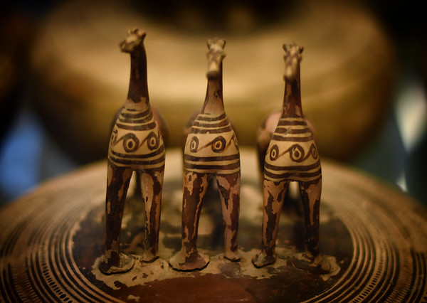 Three Ancient Horses