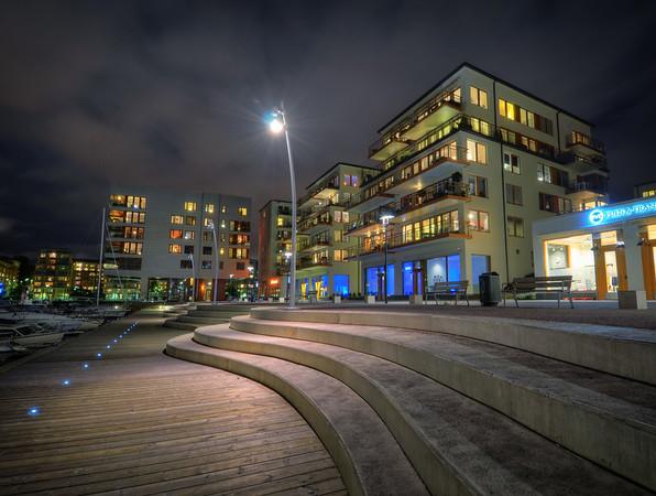 Sea City by Night